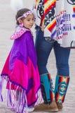 Paiute Tribe Pow Wow. LAS VEGAS - MAY 24 : Native American girl takes part at the 26th Annual Paiute Tribe Pow Wow on May 24 , 2015 in Las Vegas Nevada. Pow wow stock photo