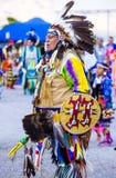 Paiute Tribe Pow Wow. LAS VEGAS - MAY 24 : Native American man takes part at the 25th Annual Paiute Tribe Pow Wow on May 24 , 2014 in Las Vegas Nevada. Pow wow stock photos