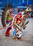 Paiute Tribe Pow Wow. LAS VEGAS - MAY 24 : Native American man takes part at the 25th Annual Paiute Tribe Pow Wow on May 24 , 2014 in Las Vegas Nevada. Pow wow stock images