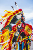 Paiute Tribe Pow Wow. LAS VEGAS - MAY 24 : Native American man takes part at the 25th Annual Paiute Tribe Pow Wow on May 24 , 2014 in Las Vegas Nevada. Pow wow stock photo