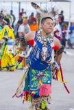 Paiute Tribe Pow Wow. LAS VEGAS - MAY 24 : Native American man takes part at the 26th Annual Paiute Tribe Pow Wow on May 24 , 2015 in Las Vegas Nevada. Pow wow stock photo