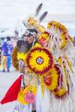 Paiute Tribe Pow Wow. LAS VEGAS - MAY 24 : Native American man takes part at the 26th Annual Paiute Tribe Pow Wow on May 24 , 2015 in Las Vegas Nevada. Pow wow royalty free stock image