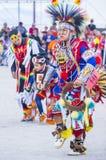 Paiute Tribe Pow Wow. LAS VEGAS - MAY 24 : Native American man takes part at the 26th Annual Paiute Tribe Pow Wow on May 24 , 2015 in Las Vegas Nevada. Pow wow royalty free stock photos