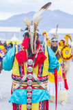 Paiute Tribe Pow Wow. LAS VEGAS - MAY 24 : Native American man takes part at the 26th Annual Paiute Tribe Pow Wow on May 24 , 2015 in Las Vegas Nevada. Pow wow stock images