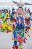Paiute Tribe Pow Wow. LAS VEGAS - MAY 24 : Native American man takes part at the 26th Annual Paiute Tribe Pow Wow on May 24 , 2015 in Las Vegas Nevada. Pow wow stock photos
