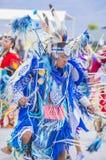 Paiute Tribe Pow Wow. LAS VEGAS - MAY 24 : Native American man takes part at the 26th Annual Paiute Tribe Pow Wow on May 24 , 2015 in Las Vegas Nevada. Pow wow stock image