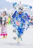 Paiute Tribe Pow Wow. LAS VEGAS - MAY 24 : Native American man takes part at the 26th Annual Paiute Tribe Pow Wow on May 24 , 2015 in Las Vegas Nevada. Pow wow royalty free stock photo