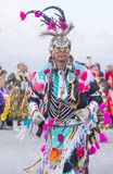 Paiute Tribe Pow Wow. LAS VEGAS - MAY 24 : Native American men takes part at the 25th Annual Paiute Tribe Pow Wow on May 24 , 2014 in Las Vegas Nevada. Pow wow stock photography