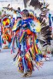Paiute Tribe Pow Wow. LAS VEGAS - MAY 24 : Native American men takes part at the 25th Annual Paiute Tribe Pow Wow on May 24 , 2014 in Las Vegas Nevada. Pow wow royalty free stock photo