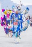 Paiute Tribe Pow Wow. LAS VEGAS - MAY 24 : Native American men takes part at the 26th Annual Paiute Tribe Pow Wow on May 24 , 2015 in Las Vegas Nevada. Pow wow royalty free stock photos