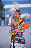 Paiute Tribe Pow Wow. LAS VEGAS - MAY 24 : Native American woman takes part at the 25th Annual Paiute Tribe Pow Wow on May 24 , 2014 in Las Vegas Nevada. Pow wow stock images