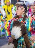 Paiute Tribe Pow Wow. LAS VEGAS - MAY 24 : Native American woman takes part at the 25th Annual Paiute Tribe Pow Wow on May 24 , 2014 in Las Vegas Nevada. Pow wow stock photos