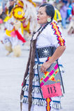 Paiute Tribe Pow Wow. LAS VEGAS - MAY 24 : Native American woman takes part at the 26th Annual Paiute Tribe Pow Wow on May 24 , 2015 in Las Vegas Nevada. Pow wow stock photography