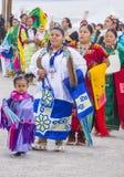 Paiute Tribe Pow Wow. LAS VEGAS - MAY 24 : Native American women takes part at the 26th Annual Paiute Tribe Pow Wow on May 24 , 2015 in Las Vegas Nevada. Pow wow royalty free stock photos