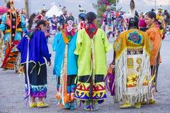 Paiutestam Pow wauw royalty-vrije stock afbeeldingen