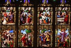 Paixão e ressurreição de Cristo foto de stock