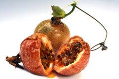 Paixão-fruta ou maracuya fotos de stock