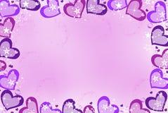 Paixão roxa Imagem de Stock