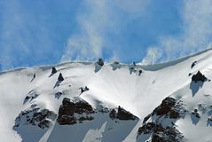 Paix à la haute altitude Photographie stock libre de droits