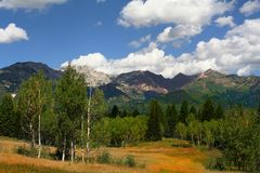 Paix 2 de montagne Photographie stock