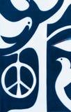 Paix au monde le signe de paix photo libre de droits