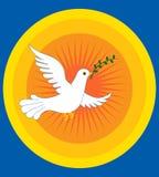 Paix de colombe illustration libre de droits