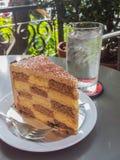 Paix de gâteau Images stock