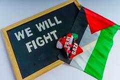 Paix de la Palestine Image stock