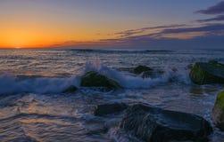 Paix de la plage Photo stock