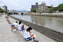 Paix de musée du Japon Hiroshima photos libres de droits