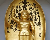 paix de pagoda de Bouddha Photo libre de droits