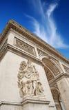Paix de sculpture. photographie stock
