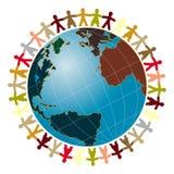 Paix du monde Images libres de droits