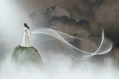 Paix, espoir, nature, beauté, amour illustration stock