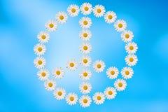 paix et amour Image libre de droits