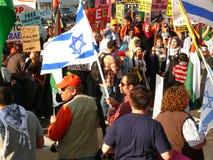 paix Santa de marche de la Californie Clara Image stock
