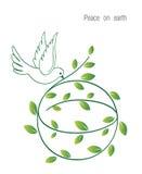 Paix sur terre Image libre de droits