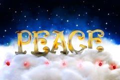 Paix sur terre Photo libre de droits