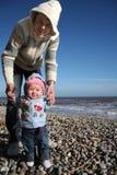 Paizinho com bebê Imagens de Stock