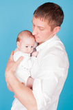 Paizinho e bebê Fotos de Stock