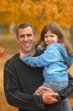 Paizinho e filha Imagem de Stock Royalty Free