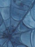 Pająk sieć - watercolour obraz ilustracja wektor
