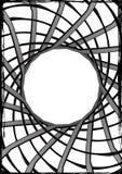 pająk sieci notatka Zdjęcie Royalty Free