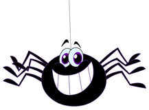 pająk Fotografia Royalty Free