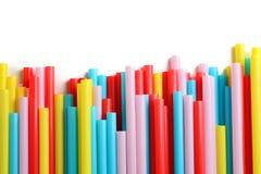Paja colorida Imágenes de archivo libres de regalías