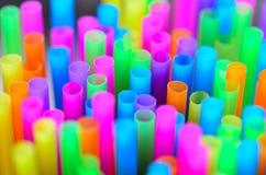 Paja colorida Fotografía de archivo