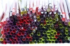 Paja de beber Imagen de archivo libre de regalías