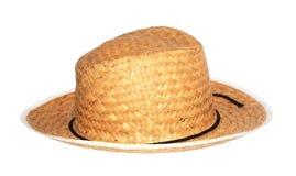 Paja del sombrero fotografía de archivo libre de regalías