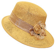 Paja hat2 Foto de archivo libre de regalías