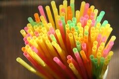 Paja multicolora Foto de archivo libre de regalías